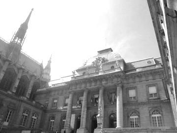 PALAIS DE JUSTICE PARIS - PENAL